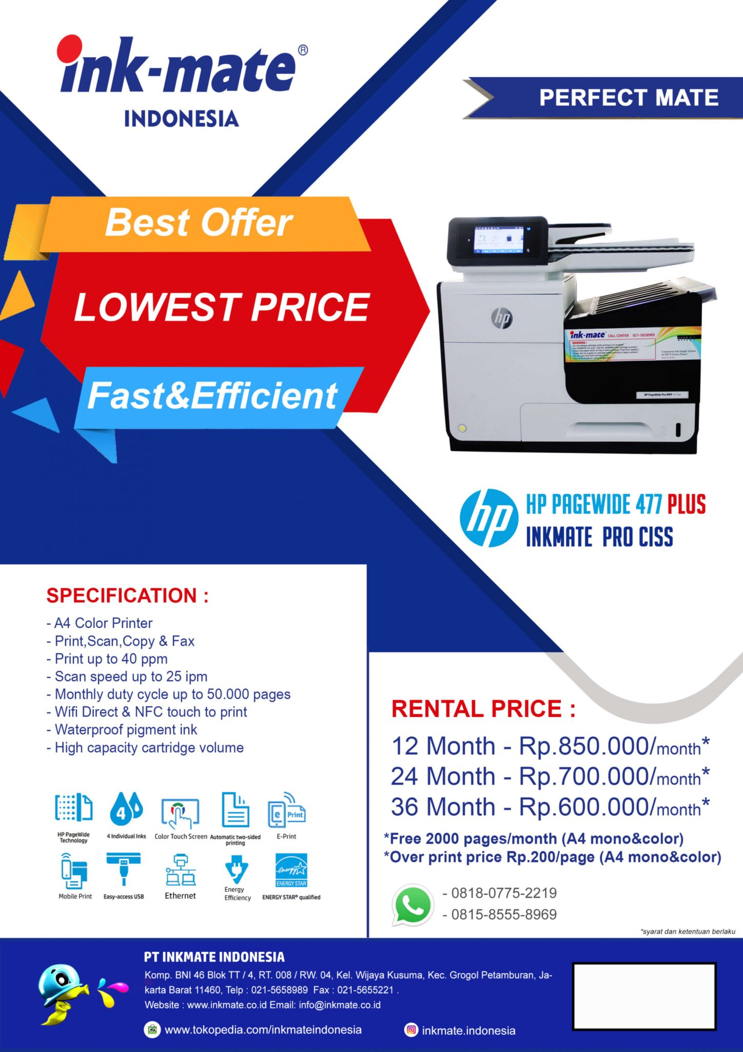 promo HP page wide